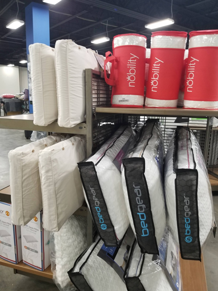 We Carry: Bedgear Pillows and protectors Malouf adjustable bases, pillows, and protectors. Slumber Cool Protectors